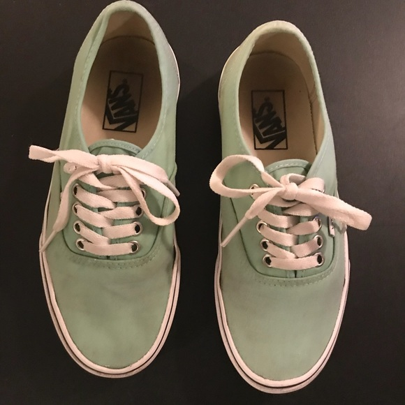 d9e7ba381d Vans Shoes - Classic Mint Green Vans. Size 8 women 6.5 men